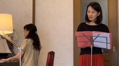 小原寿美子と岡村恭子/コンサートに向けての練習-ザプレイズ日記