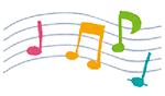 音符のイラスト(ザプレイズのこれまでのあゆみ)