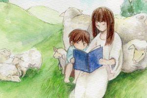 『人も自分も』詩画/朗読/藤崎眞理子ーザプレイズ(ThePraise)